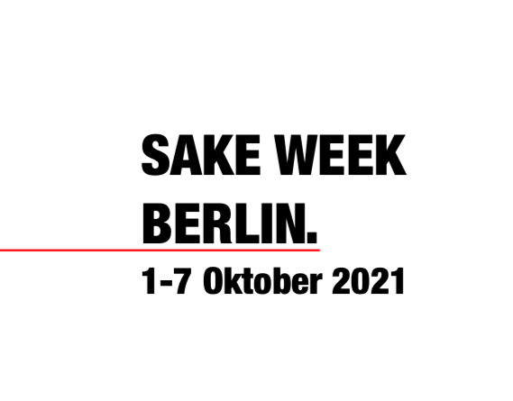 Sake Week Berlin 1. – 7. Oktober 2021